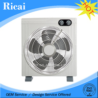"2014 new style 12""square metal blade box fan"