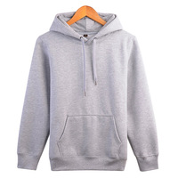 Wholesale plain mens custom oversize hoodie logo sweaters men pullover sweatshirts