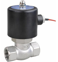 Brass or Stainless Steel Steam Solenoid Valve for Heating