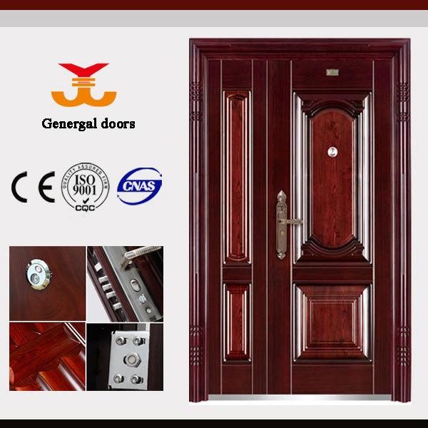 Puertas metalicas exterior puertas identificaci n del for Pintura para puerta de madera exterior