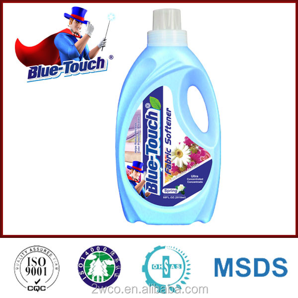 Blue-Touchhot Hot selling fabric conditioner for fabric softener washing detergent