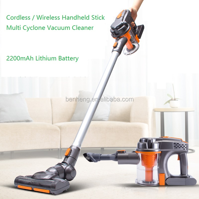 Cordless Wireless Vacuum <strong>Cleaner</strong> Rechargeable Handheld Stick Multi Cyclone Vacuum <strong>Cleaner</strong>