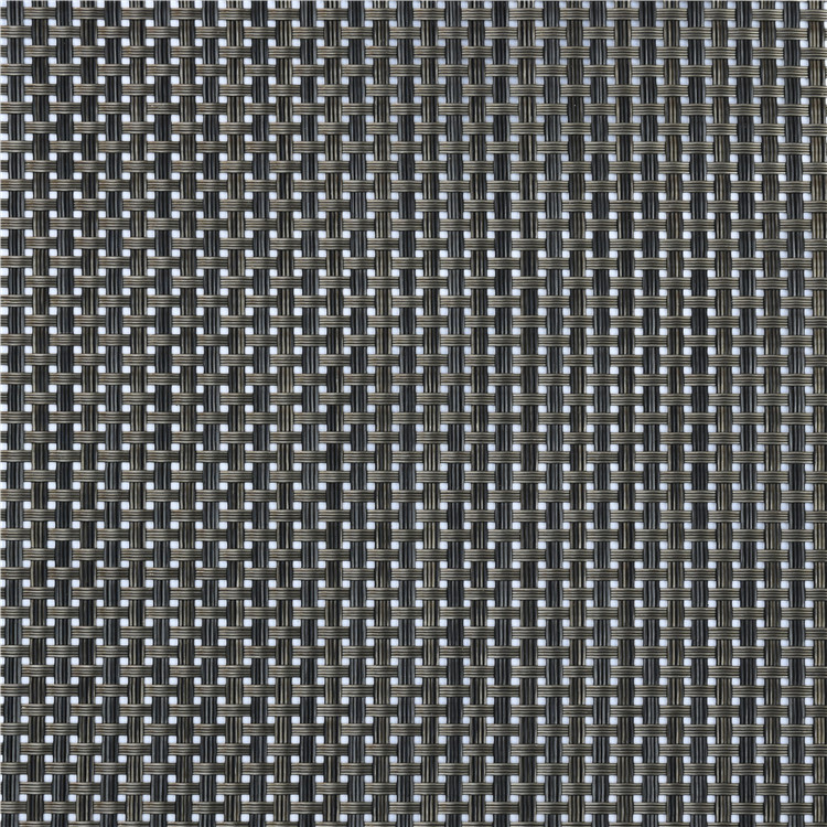 factory price pvc coated mesh woven fabric for outdoor chairs