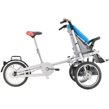 Foldable Electric Bicycle For Mom And Baby Stroller Bike