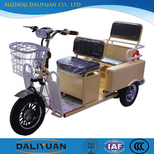 covered 2 front wheel tricycle for passenger