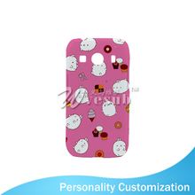 Guangzhou Sublimation Blank Custom Design 3D 4 Inch Light Weight Glossy White Plastic Cell Phone Case For Samsung ACE4