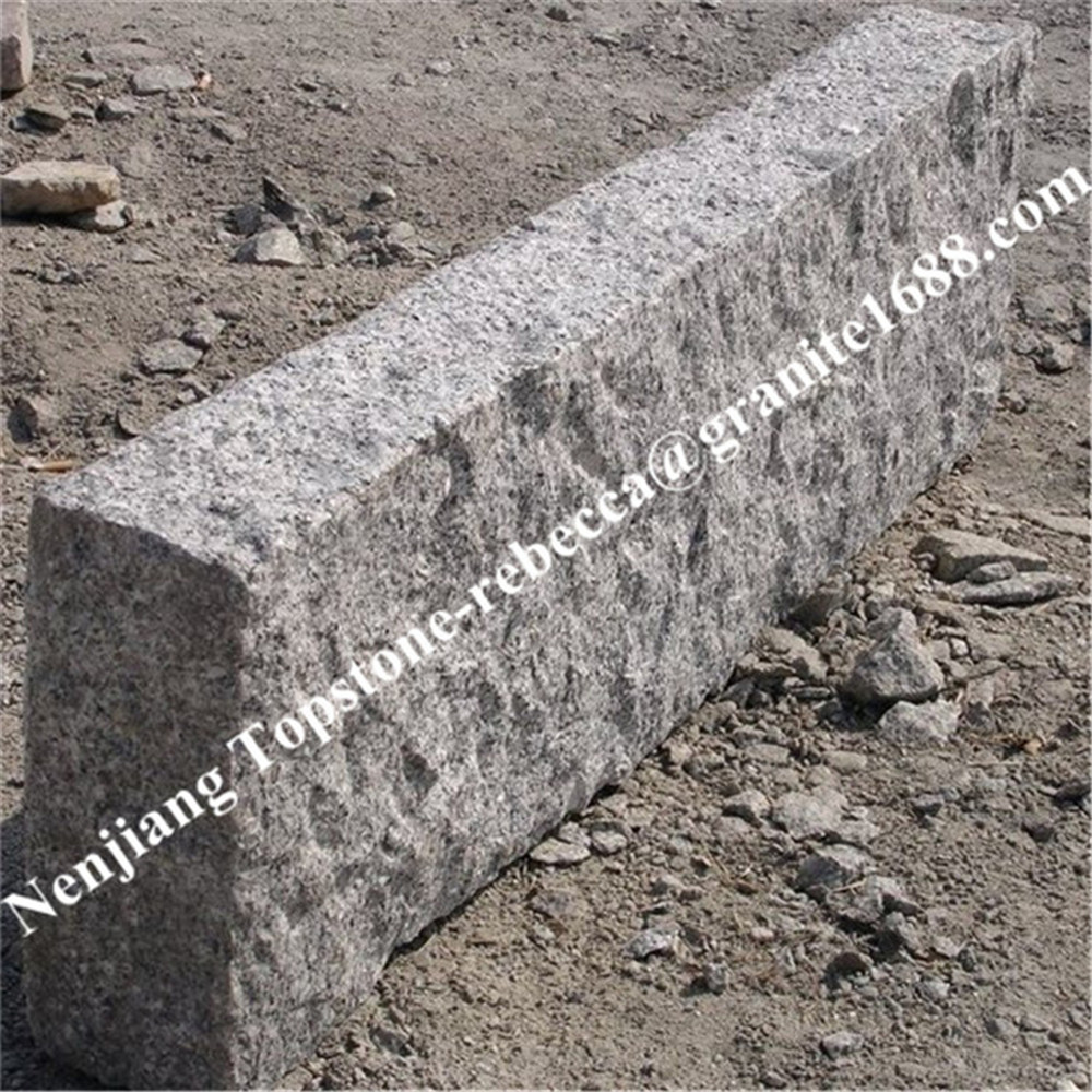 Different types of standard kerbstone sizes