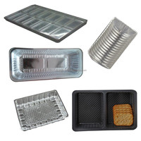 Vacuum forming protective cookie plastic packing food blister tray