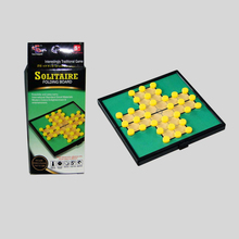 Popular Folding Magnetic Solitaire Chinese Draughts Board Game