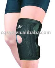 Black Adjustable Neoprene Open Patella Knee Pads Knee support Knee brace with a hole