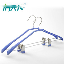 custom the best metal hanger for women clothes with shelves