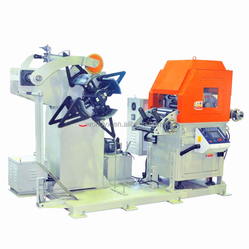 automatic sheet metal decoiler and feeding machine