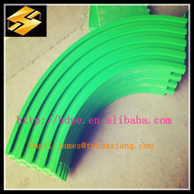 best selling plastic products UHMWPE parts linner guide rail