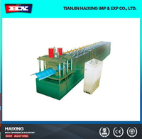 top cap formning machine with hydraulic shear,tamping plant crest tile,ridge cap forming machine