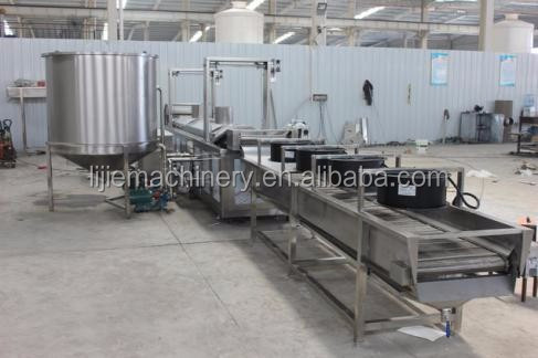 professional production line Complete line frozen french fries machinery/potato chips making machine price/french