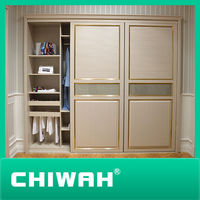modern mdf & plywood stand-up wardrobe & clothes closet