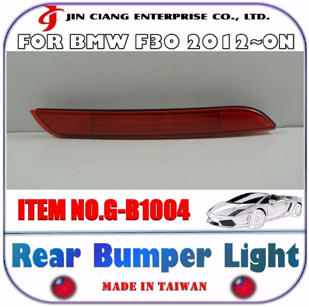 BODY KIT FOR GERMANY 3series LED RED Brake Warning Rear Bumper LIGHT