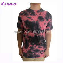 Tie-dye t-shirts 100% cotton custom with my design t shirt