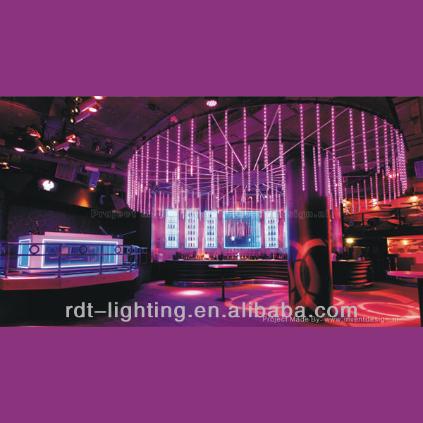 RGB DMX 360 degree LED tube light waterproof
