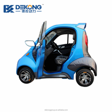 40km/h lithium polymer batteries powered two seater mini electric car