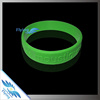 pure debossed messages colorful silicone bands