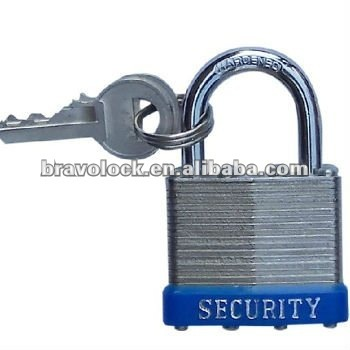 laminated steel padlock lock