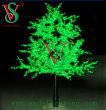 Christmas holiday name light LED maple tree light artificial trees