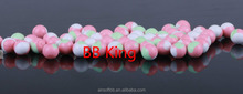 BB King New Product three color in one BB, 6mm biodegradable 0.25g bb pellets
