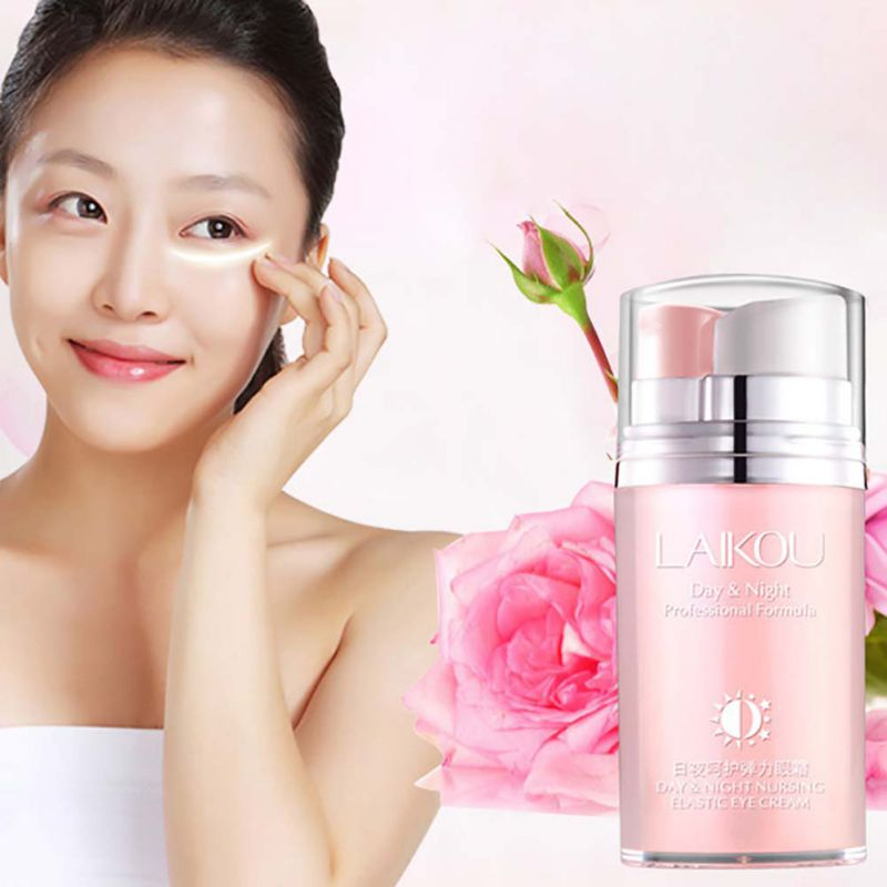Rose Skin Remove Wrinkles Gold Activating Eye Cream Slide Ball Essence Circles Anti-puffiness Finelines Firming Hot Sale