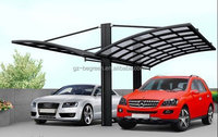 Polycarbonate Car Garage Shelter,Car Wash Tent ,Outdoor Aluminum Car Parking Canopy For Sale