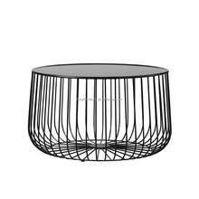 living room side table metal tea table coffee side table