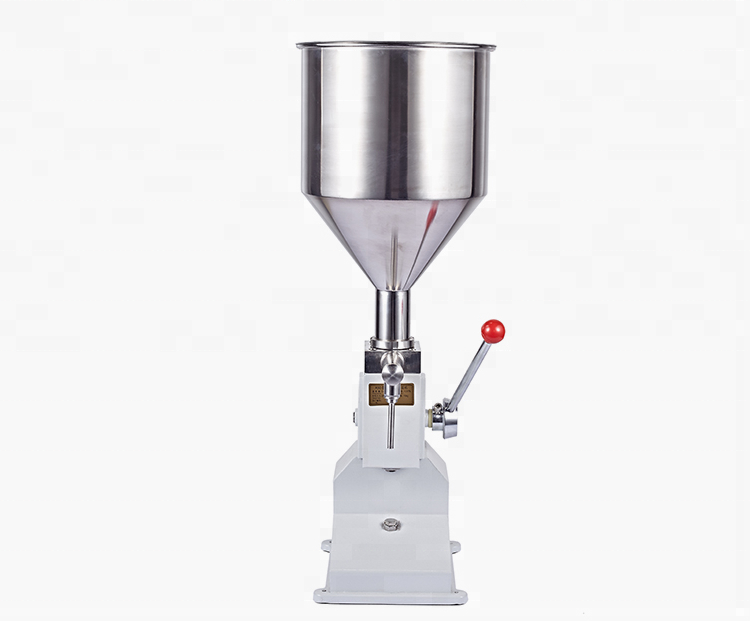 Quality Chinese supplier <strong>A03</strong> Manual Filling Machine for cream shampoo cosmetic liquid or paste/jam filling sachet machine