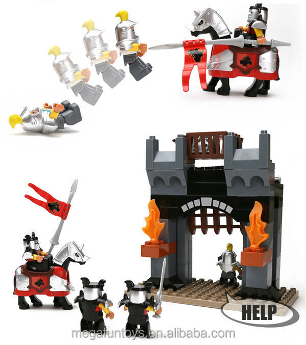 FUNLOCK Duplo limited collection empire age castle building block toy alibaba in russian