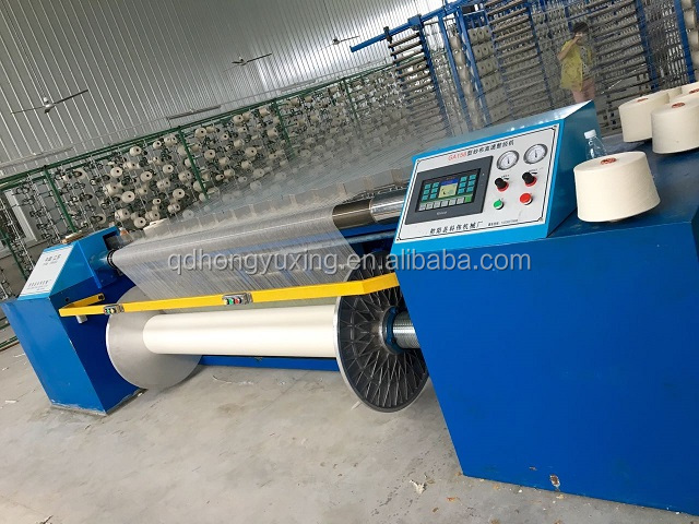 High quality and high speed direct warping machine/warping and beaming machine