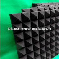Black cotton industry sound insulation wall panel