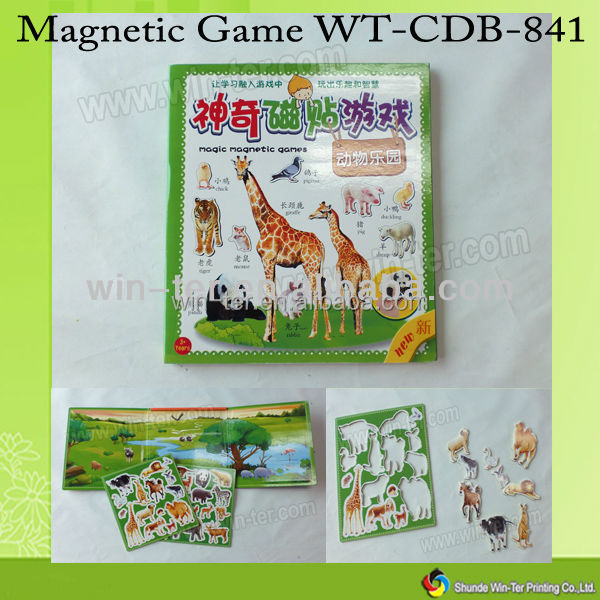 WT-CDB-841 Custom magic magnetic preschool learning toy