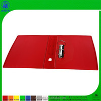 folding, 2 ring metal clip plastic file folder
