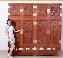 2017 Top design solid wood wooden almirah designs