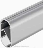 Factory Price Customized Various shaped Aluminum LED Wardrobe Rail Profile,Extruded Led Aluminum