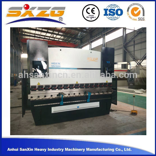 Cheaper Price Aluminum iron steel plate cnc hydraulic press brake price