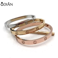 Screws Nail Cuff Bangles Love bangle Bracelets for Women Gold Odian Jewelry Stainless Steel Screw Screwdriver bangle Bracelet
