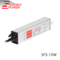 SFS-10W-5V 12V 15V 24V 36V 0.42A dc small CE certification waterproof power supply /12V 0.83A water proof led driver