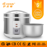 Iranian 1.8l big size heavy duty as seen on TV solar cast iron pot smart electronic stainless steel rice cooker with prices