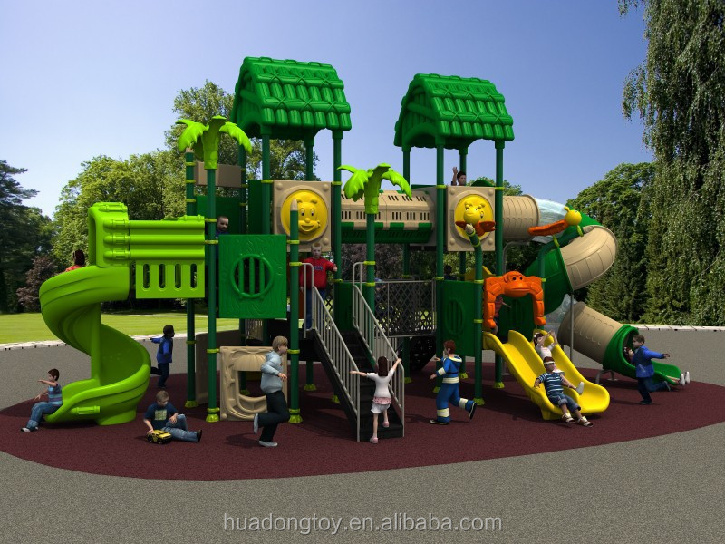 Outdoor Kids Large Used Commercial Playground Equipment Sale