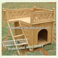 SDD01 wood room with a view dog pet house
