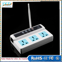 Remote Control Wireless 3 Sockets Mobile Phone GSM SIM Smart Socket Switch