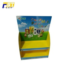 Promotional cardboard electric rotating display stand