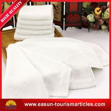cotton disposable towel wet inflight towel towel with tray
