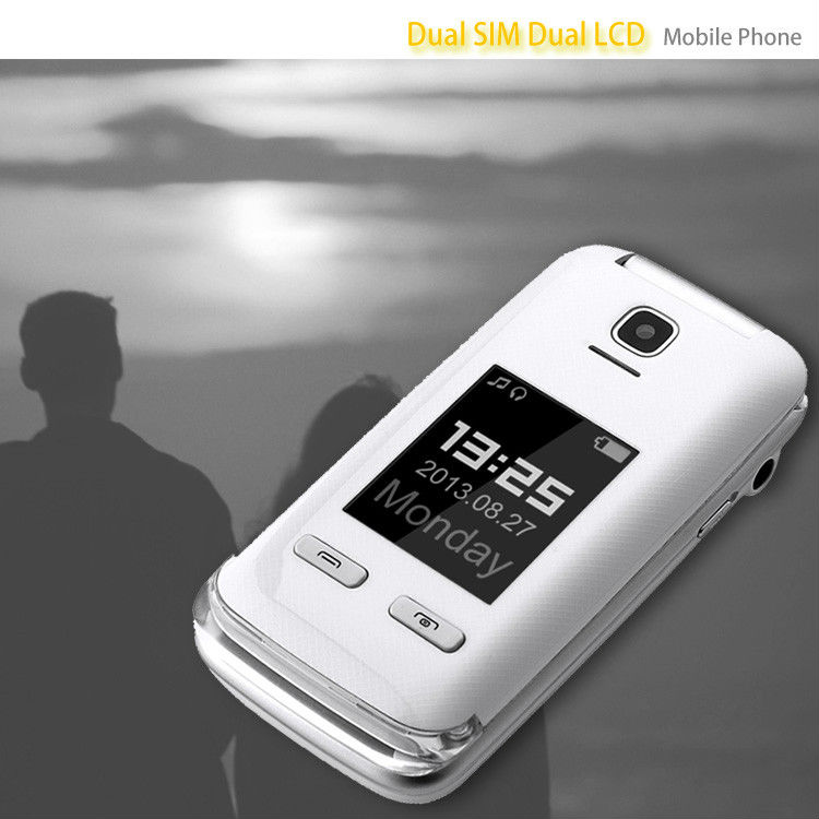 Super quality classical dual sim old man digit cellphone