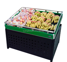 Dingfeng customized supermarket both inclined and flat bumper banana display rack